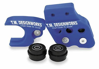 T.m Design Works Factory Edition 1 Rear Chain Guide Rcg-Smx-Bu
