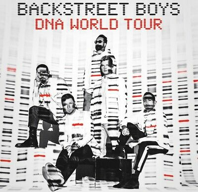 Poster backstreet Boys, Regalo Entradas Concierto DNA World Tour Madrid