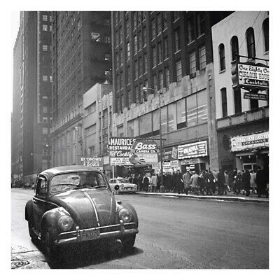 Vivian Maier Beetle on Chicago Streets 30x30cm Print