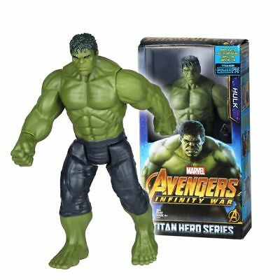 "Hulk Action Figures Marvel Avengers3 Infinity War 12"" Titan Hero Series 30cm"