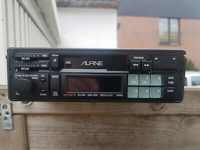 Alpine 7280M echtes Old School  Autoradio Super Zustand