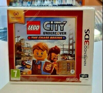 Lego City Undercover: The Chase Begins Select 3DS NUOVO SIGILLATO ITA