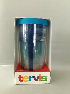 Carnival Cruise Line VIFP TERVIS Blue Lid16oz Tumbler Hot or Cold Carnival Ship