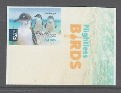 Australia 2019 Flightless Birds Mint unhinged  booklet stamp with description