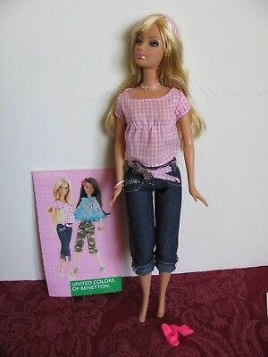 Fashion Fever United Colors of Benetton Barbie, used, 2005