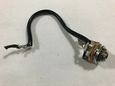 gibson les paul jack output gold quick connect 1 4 inch guitar parts 2003 gibson les paul special output jack w wiring hw