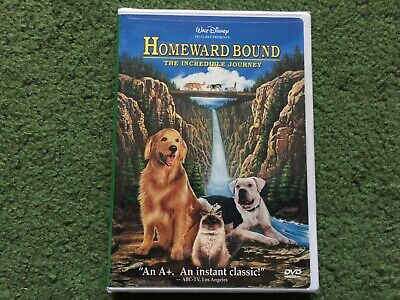 Disney Homeward Bound The Incredible Journey Dvd New & Sealed
