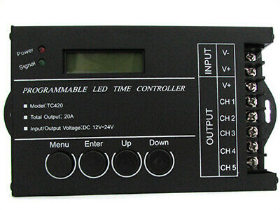 CL8809 Centralina Led Timer Alba Tramonto Programmabile Time Led Controller Per