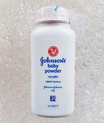 Johnson s Baby Powder Triple Baby Protection Silky Soft Skin Classic Scent 50g
