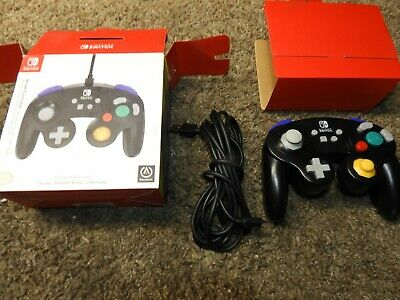 PowerA Wired GameCube Controller for Nintendo Switch - Black 19215