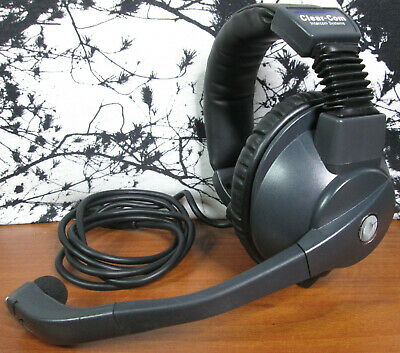 Clear Com CC-95 Single Ear Headset Microphone 4 Pin XLR