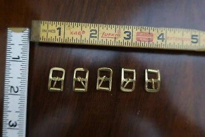 5 Vintage Mens/Ladies/Unisex Metal Belt Buckles Watch Shoe
