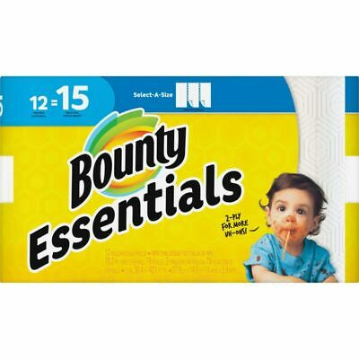 Bounty Select-A-Size Paper Towels - 2 Ply - 83 Sheets/Roll - White - For Kitchen
