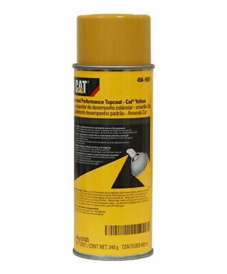 Caterpillar 458-9587 Standard Performance CAT Yellow Topcoat Paint Aerosol 12...