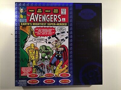 Marvel Collector Editions The Avengers Classic Avengers Set of 6 Toy Biz 1999