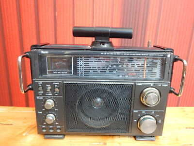 Vintage 1980s Rhapsody RY-611 Portable AM/FM Shortwave CB Radio Cassette Player