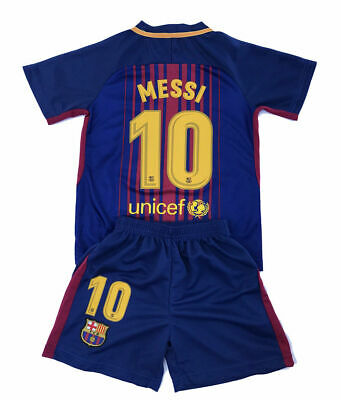 8fe7b2acd LIONEL MESSI KIDS Youth Soccer Argentina Short Sleeve Shirt White ...