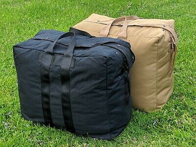NEW Flyers Kit Duffle Travel Military Army Bag Large Made in USA Black Coyote