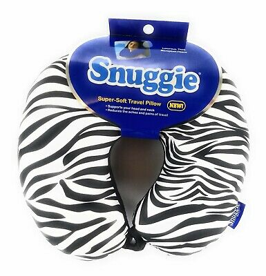 Micro Bead Travel Neck Pillow Travel  Zebra Design Super Soft Travel Neck Pillow
