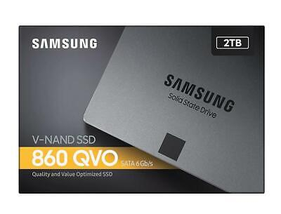 Samsung 860 QVO 2TB,V-NAND, 2.5'. 7mm, SATA III 6GB/s, R/W(Max) 550MB/s/520MB/s,