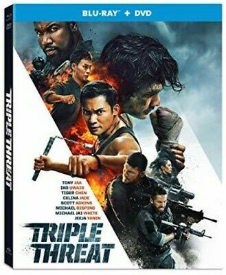Triple Threat [New Blu-ray] With DVD, 2 Pack