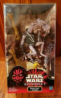 Star Wars Episode 1 Sebulba with Chubas Action Figure