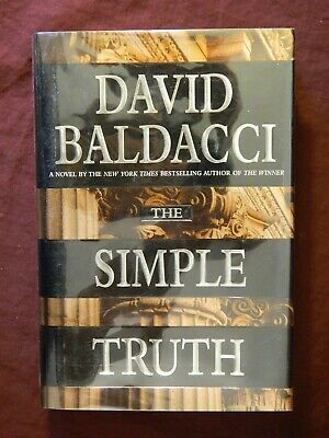 """Simple Truth """"SIGNED"""" David Baldacci 1st Edition, 1st Print, Hardcover, 1998"""
