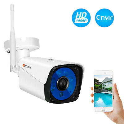 Wireless 1080P Security Camera Outdoor Wifi Surveillance Night Vision CCTV Home