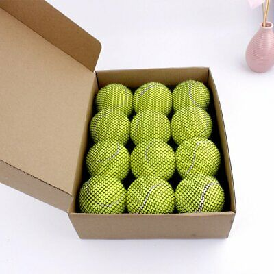 Pet Interactive Toys For Small Dogs Rubber Dog Tennis Ball Dog Chew Toy V9