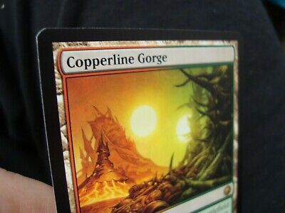 Copperline Gorge x1 Scars of Mirrodin Free Shipping Canada!