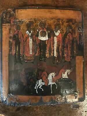 antica icona russa - alte ikone - antique icon