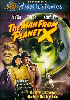 The Man From Planet X Robert Clarke Margaret Fileding John Warner New Sealed Dvd