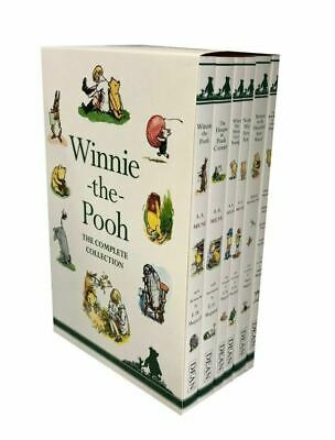 Winnie-The-Pooh The Complete 6 Book Collection Box Set - NEW