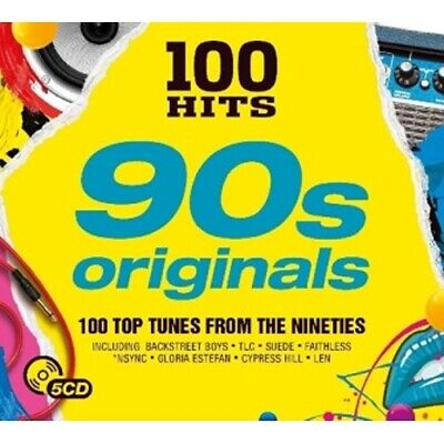 5-Cd Various - 100 Hits 90'S Originals (Condition: New)