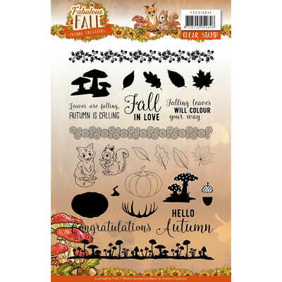 Clearstempel A5 - Yvonne Creations - Fabulous Fall - Herbst