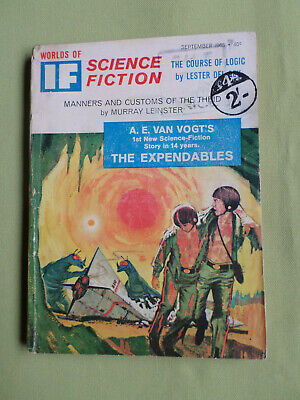 If- Worlds Of Science Fiction- Usa Mag -Sept1963 -A.e. Vogt- Frederick Pohl