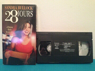 28 Days / 28 jours  (VHS, 2000) tape & sleeve FRENCH