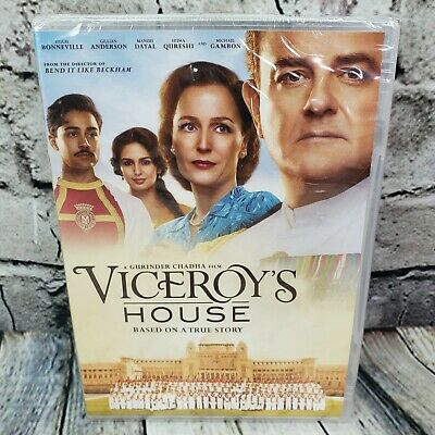 Viceroys House (DVD, 2017)  DRAMA  Hugh Bonneville, Gillian Anderson  NEW SEALED