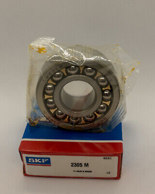 SKF 2305M Ball Bearing 2305-M Brand NEW Sealed