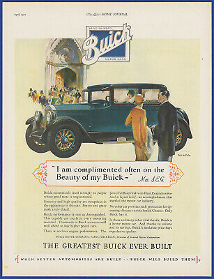 Buick Old Advertising Poster reproduction