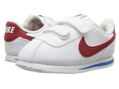 621b419ddb NEW NIKE BABY Cortez Basic SL Toddlers Shoes (904769-102) White ...