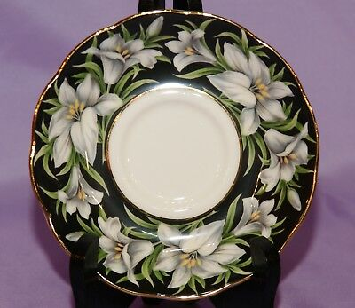 Royal Albert English Bone China Provincial Flowers MADONNA LILY Saucer