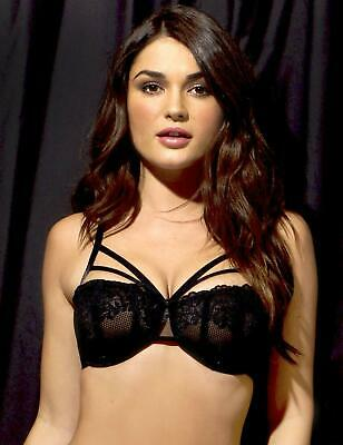 11c69d9a5ab Pour Moi Strapped Bra Underwired Non Padded 50000 Womens Sexy Black Lingerie
