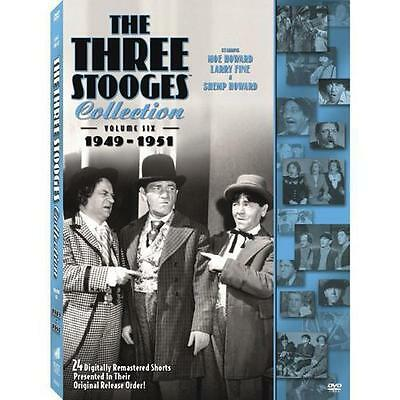 The Three Stooges Collection, Vol. 6: 1949-1951 DVD, Larry Fine, Shemp Howard, M