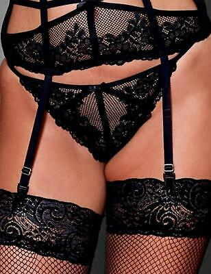 Pour Moi Strapped G String	Thong 50004 Sexy Womens Lingerie Black