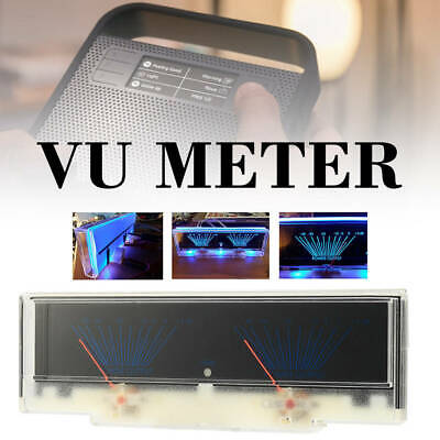 Dual Analog VU Meter Audio Level DB Meter With Backlit Lumière Perfect Gadget