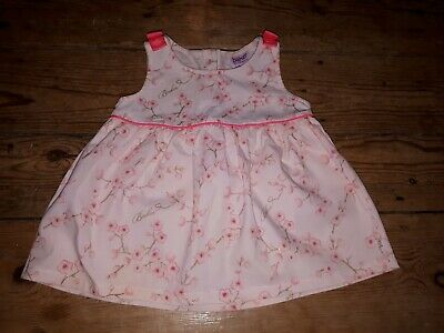 Girls TED BAKER pink Blossom Dressy Top Bow Flower Holiday Sun Top tunic 12-18