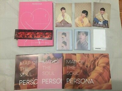 BTS MAP OF THE SOUL PERSONA Album ver 3/ Posters/ Photo Film US seller