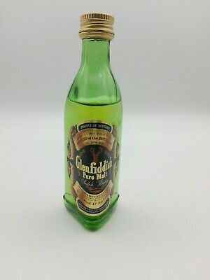 Mignon miniature minibottle Whisky Glenfiddich (b)