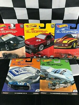 HOT WHEELS 2019 Car Culture SILHOUETTES Complete Set of 5
